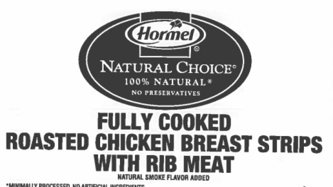 8,730 Pounds of Chicken Recalled Due to Misprinting