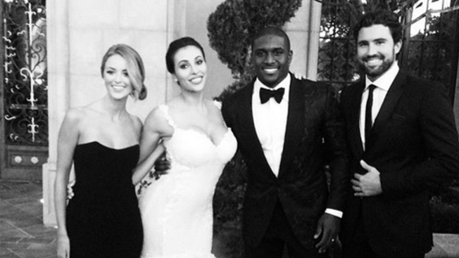 Reggie Bush Married at Grand Del Mar