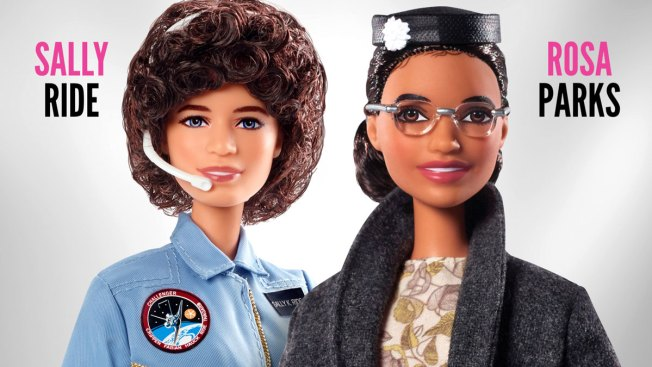 Barbie Releases Dolls Honoring Rosa Parks, Sally Ride