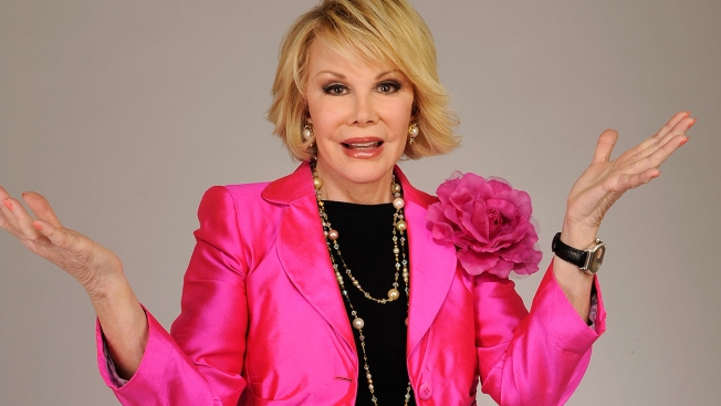 Joan Rivers' Art, Jewelry, Gowns Up for Auction