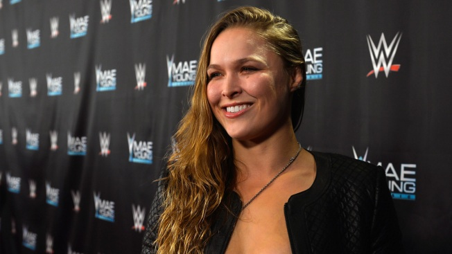 'Not a Publicity Stunt': Rousey Shifts to Wrestling With Surprise Royal Rumble Cameo