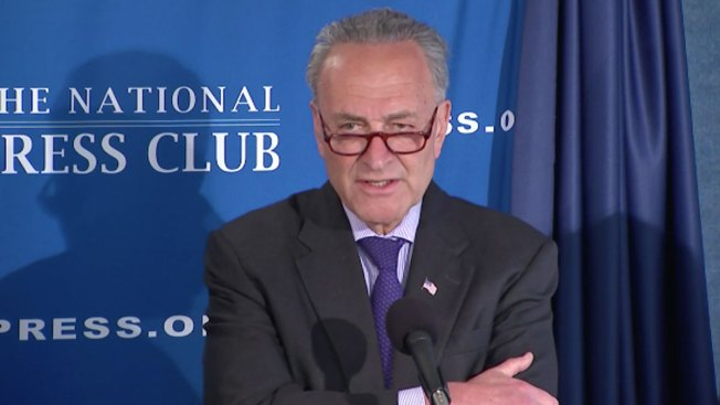 Amid GOP discord, Schumer predicts health-care law 'will not be repealed'