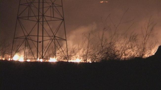 Raging Calif. Fire Scorches 6,488 Acres; 30 Percent Contained