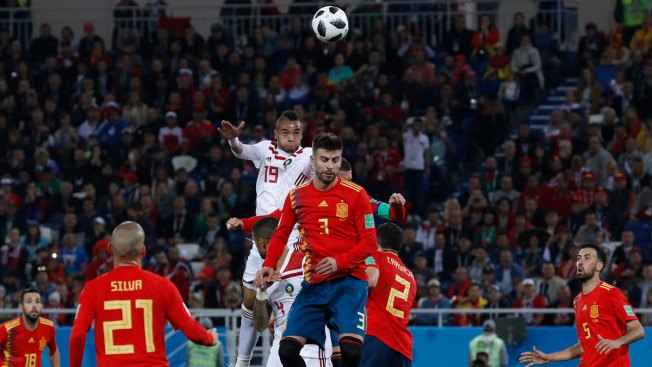 Spain Draws 2-2 With Morocco, Reaches World Cup Round of 16
