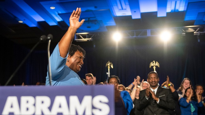 Abrams Ends Georgia Governor Bid, Says She'll File Lawsuit