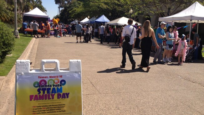 Balboa Park 'STEAM' Family Day Offers Hands-on Kids Activities
