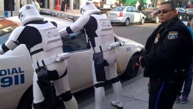 Philly Police 'Arrest' Stormtroopers for Spoiling Plot