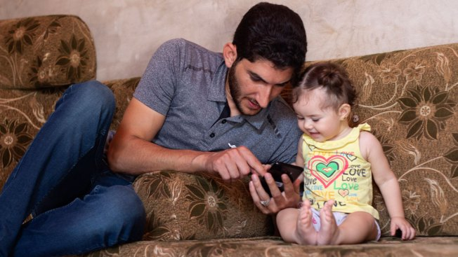 Syrian Father Who Lost Twins to Poison Gas Uprooted Again