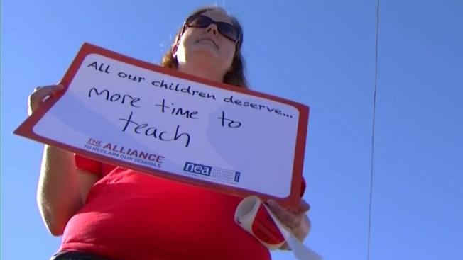 'Reclaim Our Schools' Rallies Focus on Testing