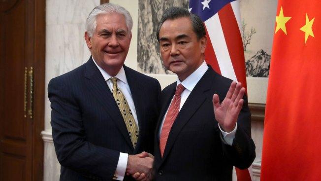 In Beijing, Tillerson Urges China-US Cooperation on N. Korea