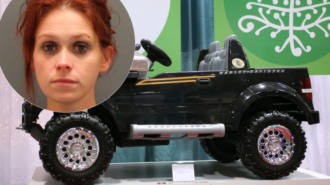South Carolina Woman Stopped for Driving Drunk on a Toy Truck, Police Say