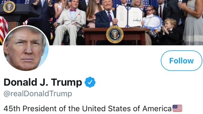 Trump Appealing Ruling That Bars Blocking of Twitter Critics