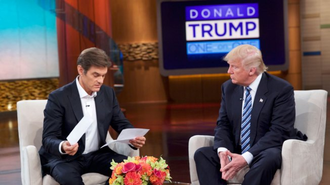 Trump no longer discussing medical exam on Dr. Oz