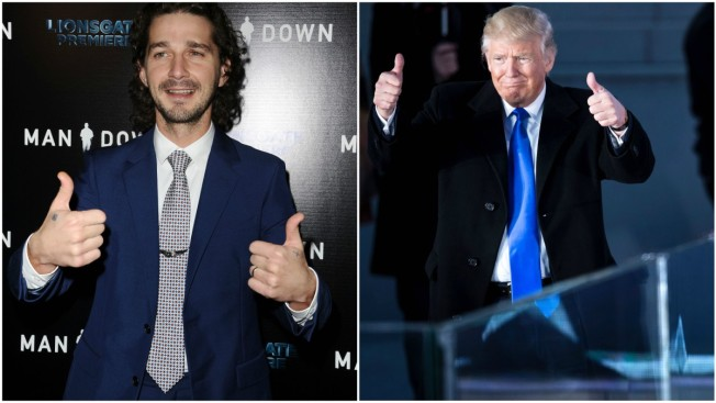 Shia LaBeouf Vows 4-Year-Long Anti-Trump Livestream Event