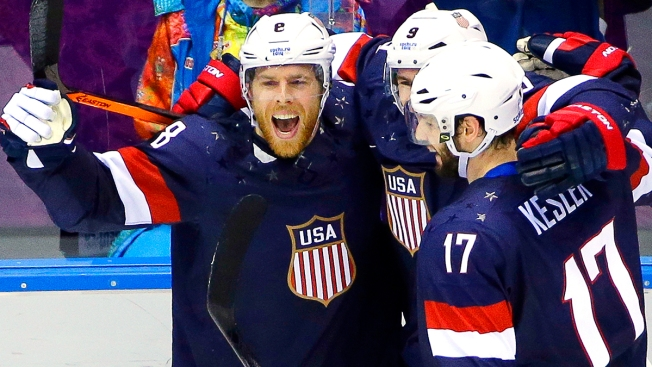Sochi Day 8: U.S. Beats Russia in Hockey Thriller