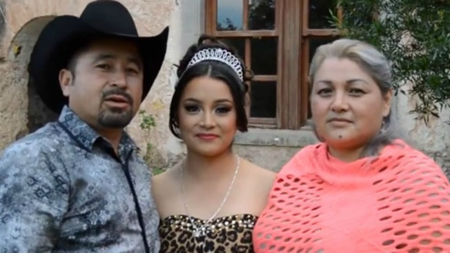 Thousands Turn Up for Girl's Quinceanera