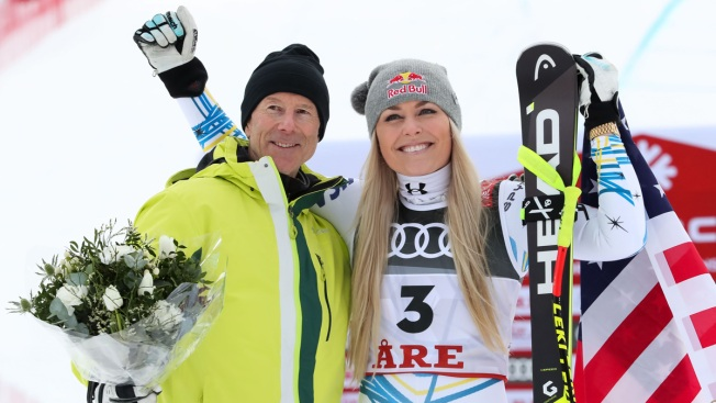 Lindsey Vonn Wins Bronze Medal in the Final Race of Her Career