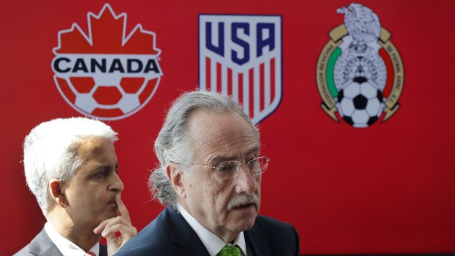 USA, Mexico and Canada officially announce 2026 World Cup bid