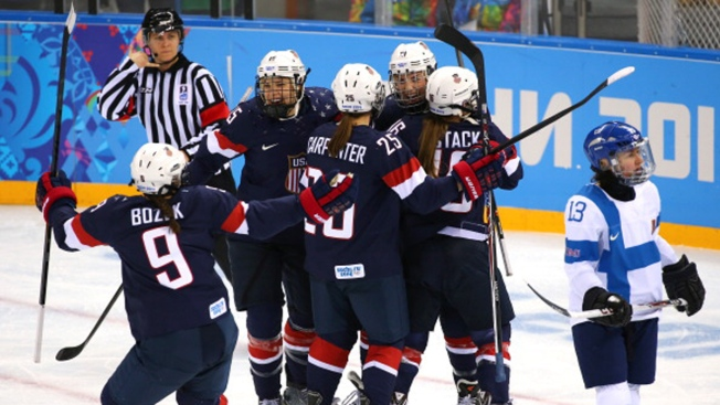 U.S. Beats Finland in Women's Hockey at Sochi Olympics