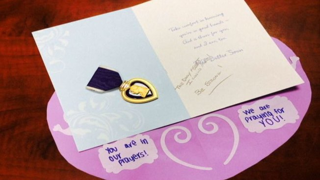 """Slender Man"" Stabbing Victim Receives Military Purple Heart"