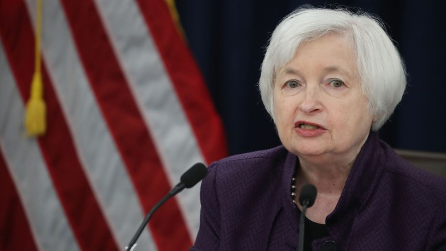 Fed Chief Yellen Says Rate Hike Likely Appropriate This Year