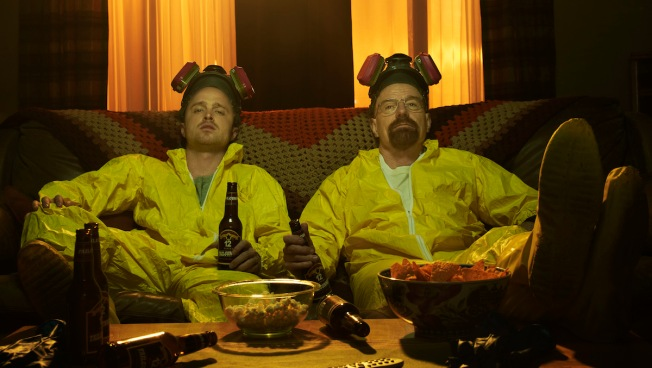 Aaron Paul Is So Excited About 'Breaking Bad's' Meth Suits Making It to the Smithsonian
