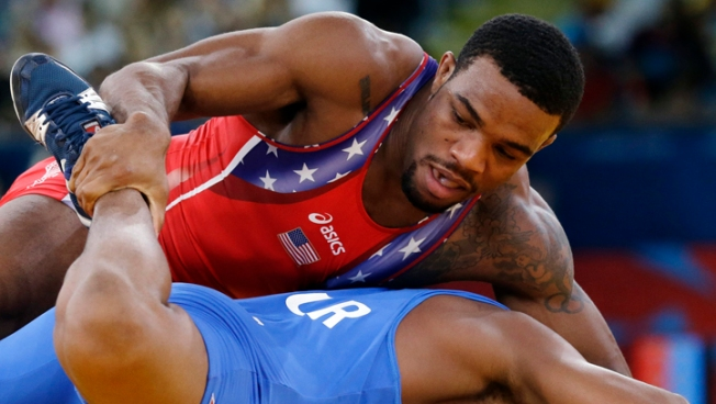 U.S. Hopes for 1st Wresting Gold Rest on Burroughs