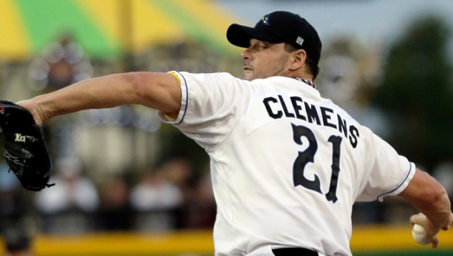 Clemens Back on the Mound at 50