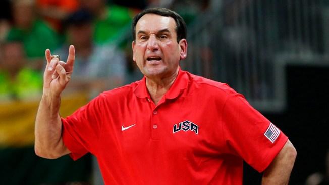 Coach K Return to U.S. Team No Longer Ruled Out
