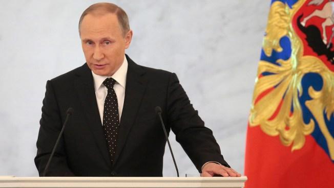 Russian President Vladimir Putin Warns Turkey Over 'War Crime'