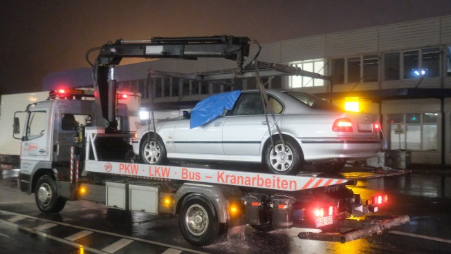 Drugged Driver Forces Car onto Airport Tarmac in Germany