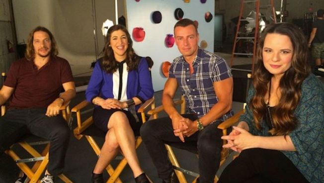 """""""Blossom"""" Reunion: See Mayim Bialik, Joey Lawrence, Jenna von O and Michael Stoyanov Together Again"""