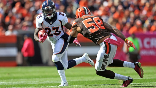 Minnesota Vikings waive Ronnie Hillman, promote Stephen Weatherly