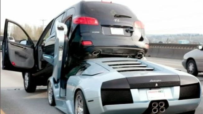 What Happens When a Fast Car Suddenly Brakes