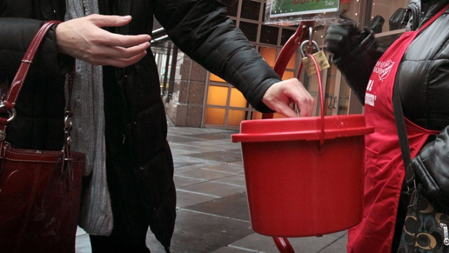 Salvation Army Red Kettle Donations Down 50% Over 2012