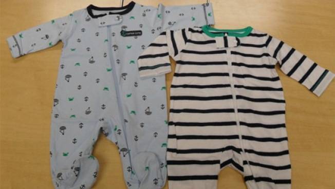 About 218,000 Onesies Recalled for Possible Choking Hazard