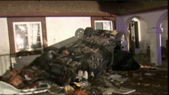 Car Crashes into Bedroom of Antioch Home While Woman Was Sleeping