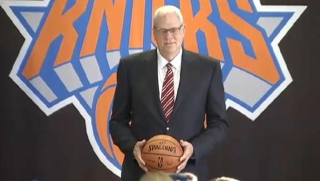 WATCH: Knicks Welcome Back Phil Jackson