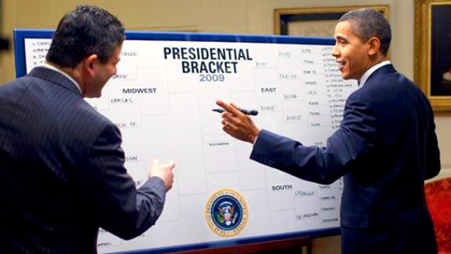 The Board Behind Presidential Barack-et