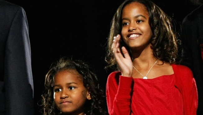 Obama Girls Attend Beyonce Show With First Lady