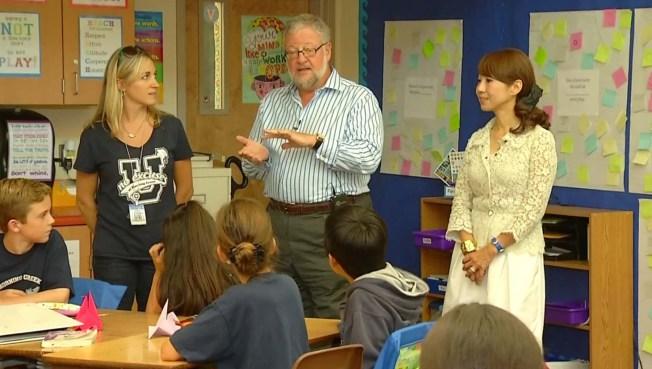 Rockefeller Creates SD, Japan School Partnership