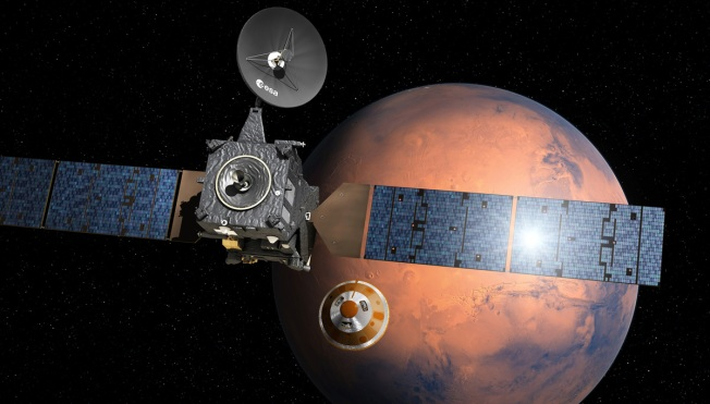 European Space Agency Says Mars Probe May Have Exploded