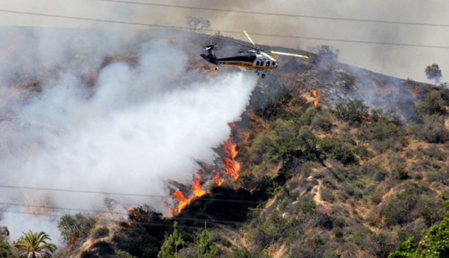 Wildfire Rages over 8,000 Acres in Southern Calif.