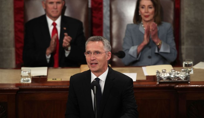 NATO Chief Tells Congress of 'Serious' Alliance Divisions