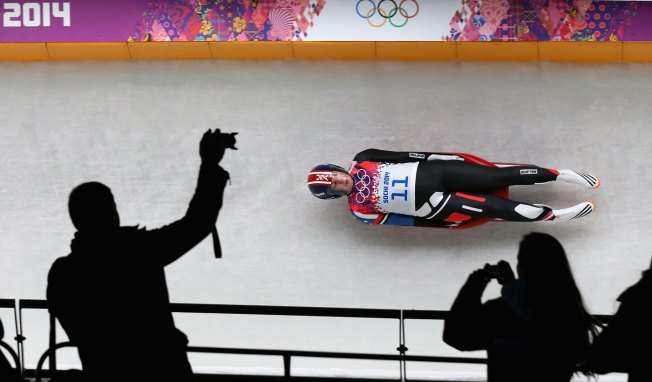 Luge Athlete Erin Hamlin Makes Historic Run