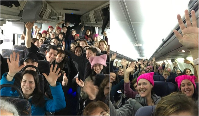 By Plane, Train and Bus: Hundreds of Thousands Flock to DC for March