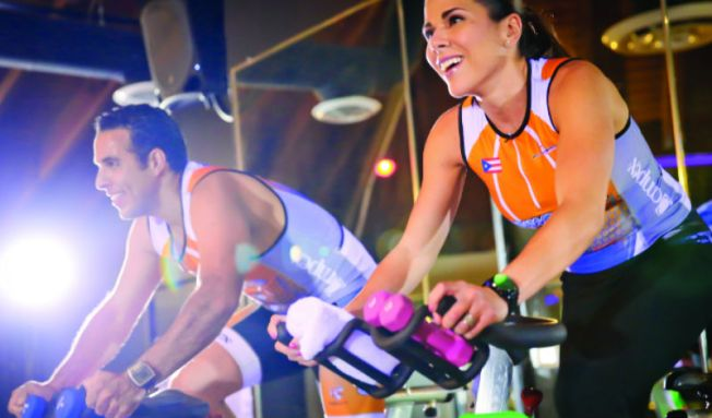 Downtown Nightclub Hosts Spin Cycling Party