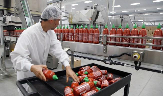Judge Orders Sriracha Shutdown Over Stink