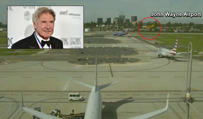 Ford Said He Was a 'Schmuck' for Plane Landing Mishap