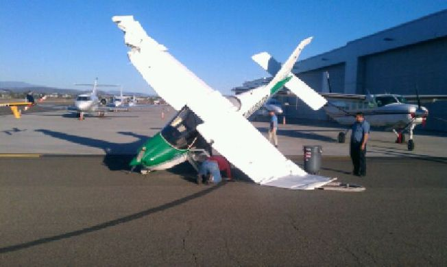 Planes Collide at Palomar Airport